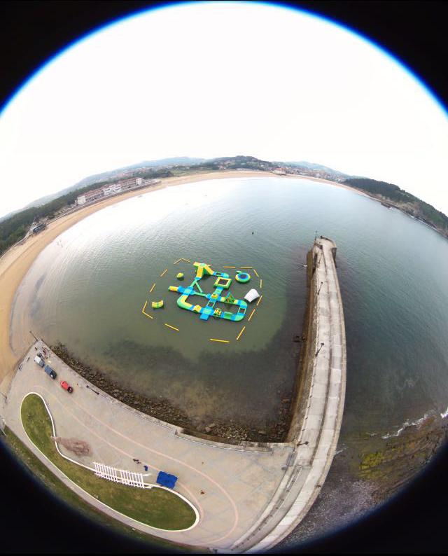 Foto aerea dron